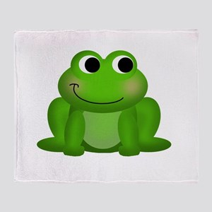 Cute Froggy Throw Blanket