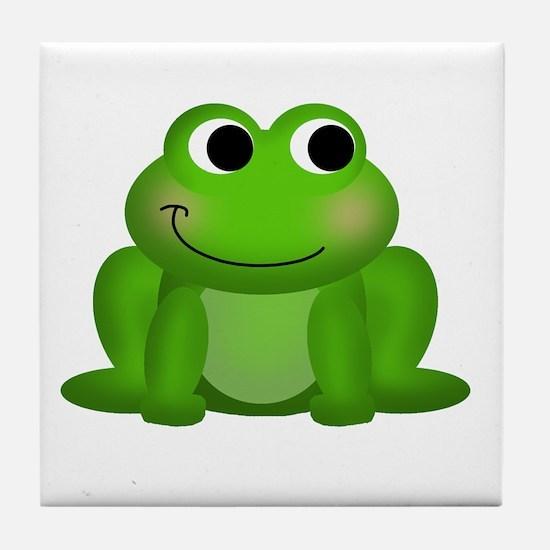 Cute Froggy Tile Coaster