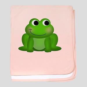 Cute Froggy Baby Blanket