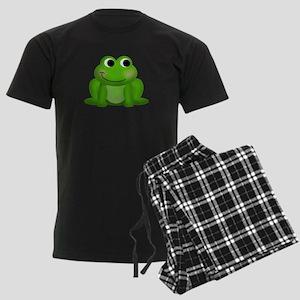 Green Frog Men's Dark Pajamas