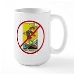 No Fools! Large Mug