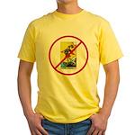 No Fools! Yellow T-Shirt