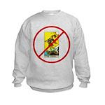 No Fools! Kids Sweatshirt