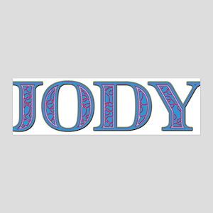 Jody Blue Glass 42x14 Wall Peel