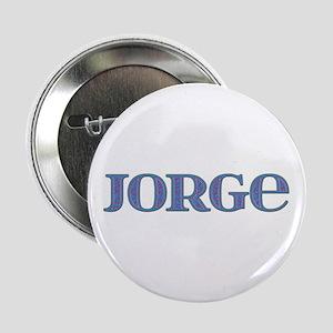 Jorge Blue Glass Button