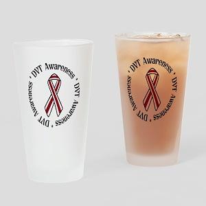 DVT Awareness Drinking Glass