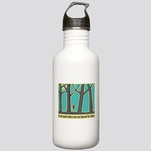 John Muir Quote Stainless Water Bottle 1.0L