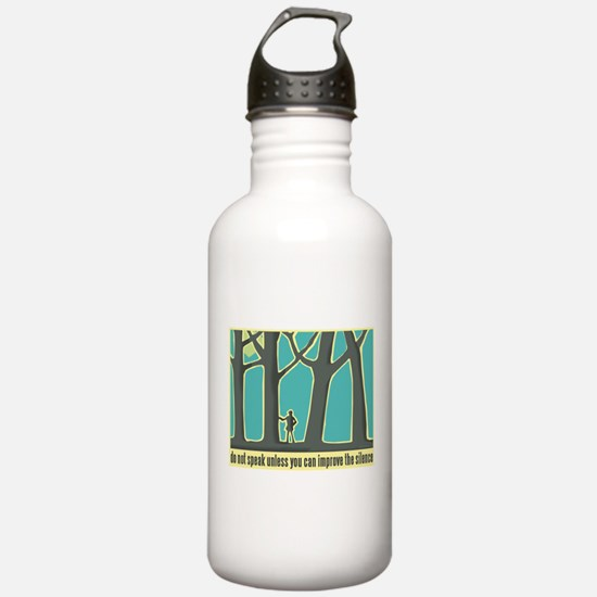 John Muir Quote Water Bottle