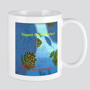 Support Germ Warfare,Hep.B,Gripping Artworks Mugs