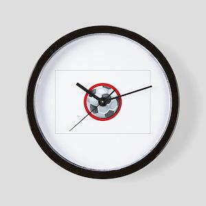 Japanese Soccer Wall Clock