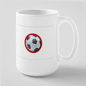 Japanese Soccer Large Mug