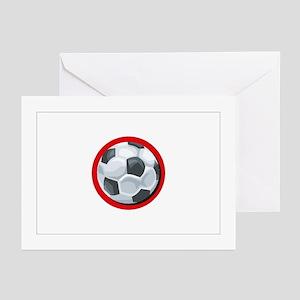 Japanese Soccer Greeting Cards (Pk of 10)