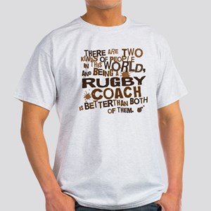 Rugby Coach (Funny) Gift Light T-Shirt