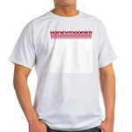 Honeymooner Hearts Ash Grey T-Shirt
