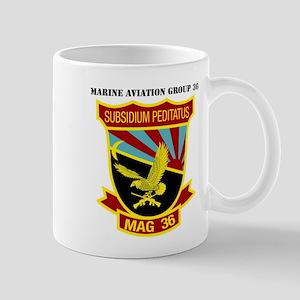 SSI -USMC-MAG 36 WITH TEXT Mug