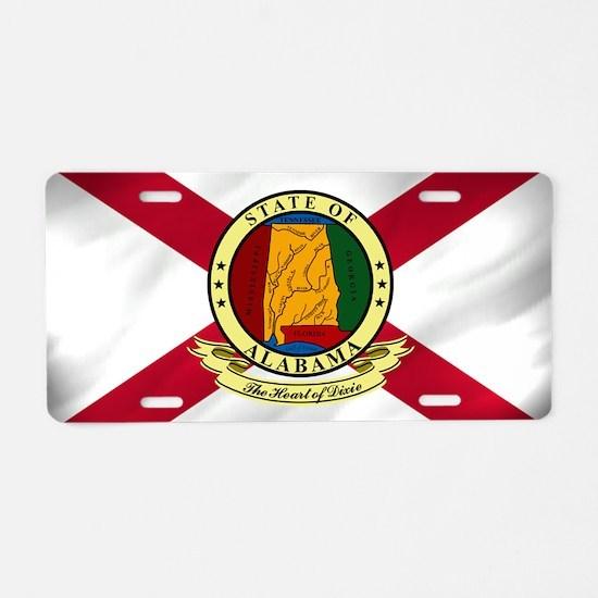 Alabama Seal Aluminum License Plate