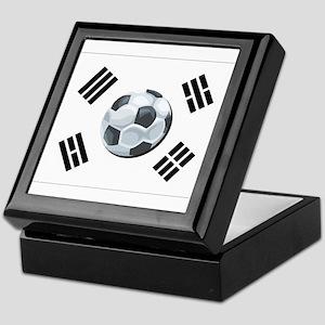 Korean Soccer Keepsake Box