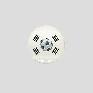 Korean Soccer Mini Button