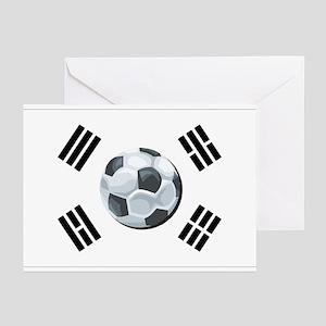 Korean Soccer Greeting Cards (Pk of 10)