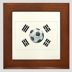 Korean Soccer Framed Tile