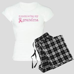 Breast Cancer Grandma Women's Light Pajamas