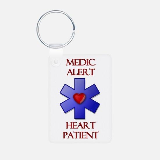 Medic Alert Heart Patient Keychains