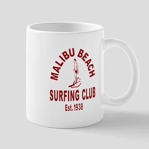 Malibu Beach Surfing Club Mug