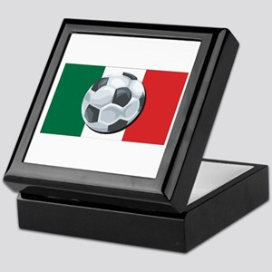 Mexican Soccer Keepsake Box