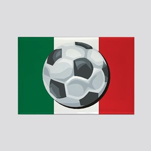 Mexican Soccer Rectangle Magnet