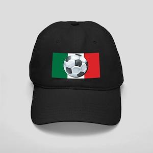 Mexican Soccer Black Cap