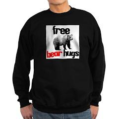 FREE BEAR HUGS Sweatshirt (dark)