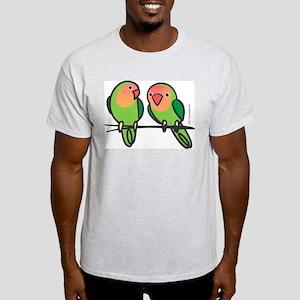Peach-Faced Lovebirds Light T-Shirt