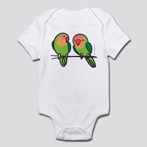 Peach-Faced Lovebirds Infant Bodysuit