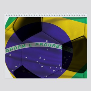 Brasil Futebol Wall Calendar