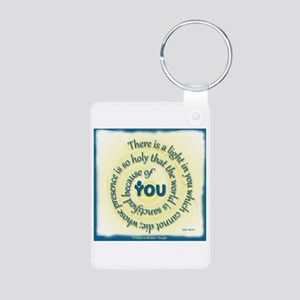 ACIM-A Light in You Aluminum Photo Keychain