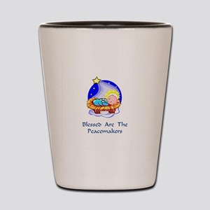 Peacemakers W/Child Gifts Shot Glass