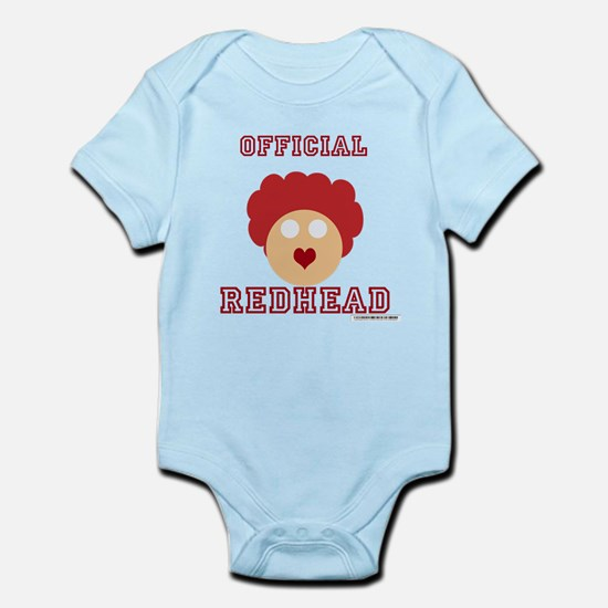 Official Redhead Infant Bodysuit