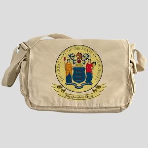 New Jersey Seal Messenger Bag