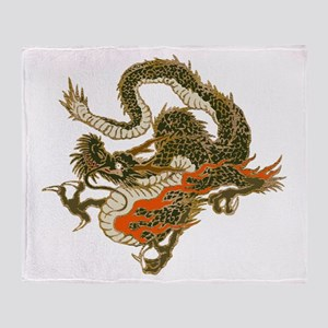 dragon Throw Blanket