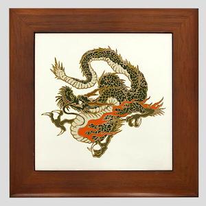 dragon Framed Tile
