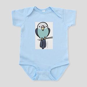 Blue Parakeet Infant Bodysuit