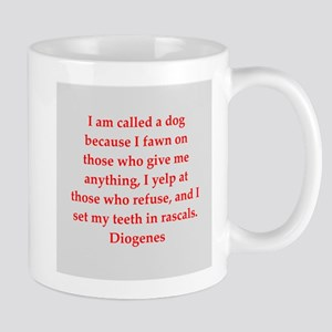 Wisdon of Diogenes Mug