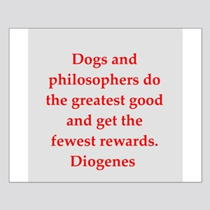 Wisdon of Diogenes Small Poster