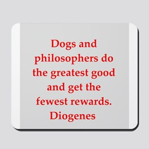 Wisdon of Diogenes Mousepad