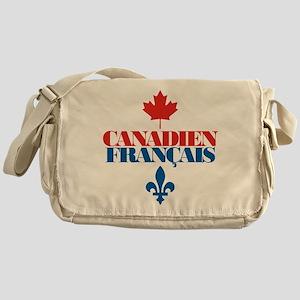 Canadien Francais 2 Messenger Bag