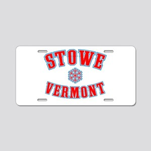 Stowe Tackle & Twill Aluminum License Plate