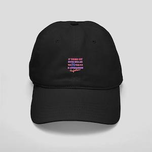 Funny 70th Birthdy designs Black Cap