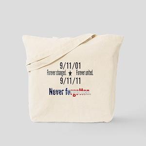 9-11 / United Never Forgotten Tote Bag
