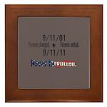 9-11 / United Never Forgotten Framed Tile