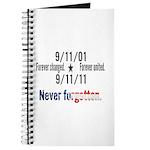 9-11 / United Never Forgotten Journal